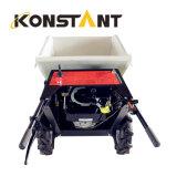 Scaricatore mini di capovolgimento elettrico della costruzione del dispositivo di presa di forza per caricamento & trasporto
