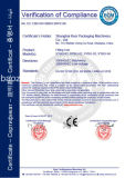 Certificado CE Pegado de Etiquetas Autoadhesivas máquina- de tipo vertical