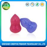 Горячая продавая глянцеватая цветастая косметическая губка Blender силикона учредительства 3D