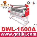 Grand format de film de plastification à froid automatique de la machine avec réglage de la pression manuelle