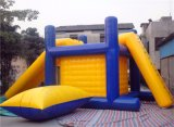 Inflables para adultos de la plataforma flotante de agua de juguete con bolsa de Salta