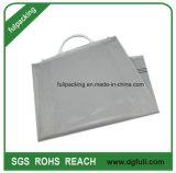 Imprimé en gros sac cadeau Snap rigide de la poignée, sac de plastique de Shopping personnalisé