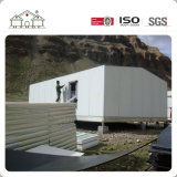USD 50 /M2 Prefab Low-Cost House, construído sobre o piso de concreto, com teto Two-Slope----Big barato