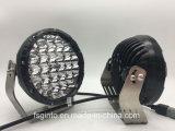 4X4 ATV/Tractor/Truck/Boat (GT1015-128W)를 위한 Offroad 차 반점 램프 7inch LED 일 빛