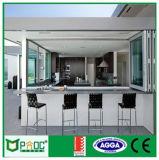 Pnoc080921ls Aluminium die Venster met Eenvoudig Ontwerp vouwen
