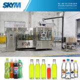 Línea de relleno automática completa de bebida carbónica