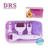 Fabricante profissional 6 em 1 rolo ajustado de Dermaroller Microneedle para o cuidado de pele