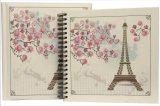 Cartón negro de papelería, bricolaje Álbum de fotos Libro de memorias con la ventana