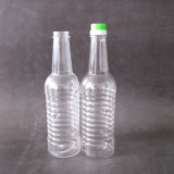 Направьте бутылку любимчика изготовления для упаковывать масла или сои пластичный