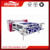 직물 인쇄를 위한 롤러 드럼 승화 열 압박 기계