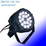 Illuminazione della fase di illuminazione 15W*18 di PARITÀ del LED