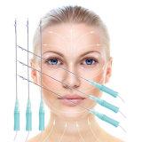 Face estética do elevador da linha da cirurgia plástica 3D Pdo com suturas farpadas