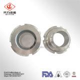 Vidrio de vista sanitario de la unión del acero inoxidable de las guarniciones de la alta calidad SS304 316L