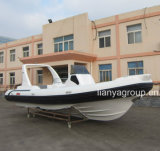 Boot van het Jacht van Liya 24.5feet de Militaire Opblaasbare voor Verkoop