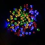 luz solar del día de fiesta de la luz de la cadena de los 10m LED para la decoración al aire libre