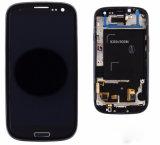 フレームが付いているSamsung S3 LCDのタッチ画面の計数化装置のため
