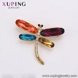 La llegada Xuping Rodio Color Oro de los cristales de Swarovski Dragonfly mujer broches