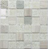 Vidrio de alta calidad mosaico baño de piedra