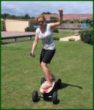 Nicht für den Straßenverkehr elektrischer Skateboard-Plattform-Rad-LKW
