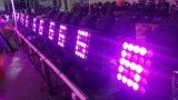 PRO lumière 25*12W RGBW 4en1 Déplacement du faisceau de lumière LED de la tête de la matrice