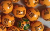 Bolas Multi-Coloridas del bingo del código de barras