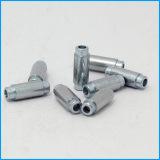 Профессиональный CNC разделяет части пластмассы и металла алюминиевые подвергая части механической обработке CNC подвергая механической обработке