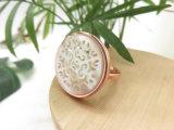 Латунные кольца K Gold декоративный Platinum гравировка белый корпус уплотнительные кольца