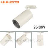 Projecteur en aluminium de piste enfoncé par 35W de blanc de lumière de piste de Dimmable DEL