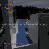 carrocería del barco del barco de pasajero del 18m China FRP