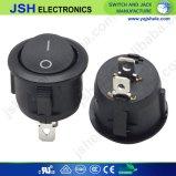 Kcd1-105 2p sur l'interrupteur à bascule ronds off