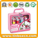 Коробка олова окна PVC игрушек малышей для тары для хранения подарка