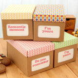 Boîte d'articles divers de papier personnalisé/ stockage boîte à chaussures