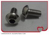 ISO7380 Tasten-Kopf-Maschinen-Schraube M6X8 des Edelstahl-304 Hex der Kontaktbuchse-316 zu M6X70