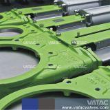 DIN Pn10/Pn16 Válvula de Gaveta da faca de wafers com Operação Manual