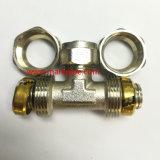 고품질 니켈에 의하여 도금되는 금관 악기 압축 이음쇠