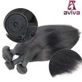 Cheveu brésilien de Vierge d'extensions de cheveux humains de 100% directement
