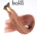 Braziliaanse Maagdelijke Rode Kleur 20 Duim I van het Haar het Menselijke Haar van het Uiteinde
