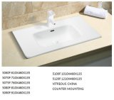 Sanitaryware Thin-Edge Rectangular 70cm Lavabo para baño vanidad (5070F)