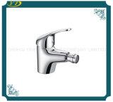 Único Faucet de banheira cromado do banheiro da alavanca núcleo cerâmico