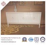 Muebles del hotel con el aparador blanco para el salón del pasillo (YB-T-861)