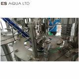 Línea de embotellado de agua pura de lavado de la botella de maquinaria Máquina Tapadora de llenado