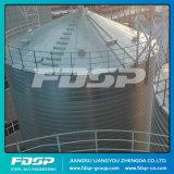 Квадратные закреплен в бункере 500 тонн кукурузы небольшого размера для хранения зерна в бункере