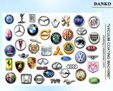 プラスチック自動車部品の真空メッキ機械、車のロゴの銀PVDの真空メッキ装置