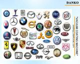 Máquina de recubrimiento vacío automático de plástico piezas de plata, Equipo de recubrimiento vacío PVD Logotipo coche