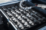 3 de Vorkheftruck van de Batterij van wielen