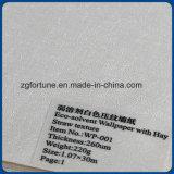 돋을새김하는 고품질 백색 벽 종이 인쇄