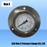 Personnalisé se félicite de la pression en acier inoxydable résistant à la corrosion mètre