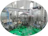 Getränkeflüssige füllende Zeile Gerät für Plastikflasche und Glasflasche mit Kronen-Schutzkappe
