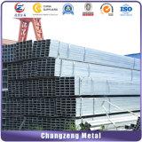 Черный квадрат стальной трубопровод для Struction (CZ-SP23)