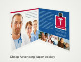 Brochure de papier d'URL Webkey de site Web de Effective Advertizing Promote Popup Company ou clés de Web